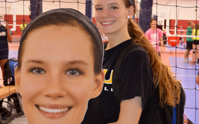 Custom Big Head Signs in Richmond, VA for Volleyball Team – PERSONALIZED FAT HEADS