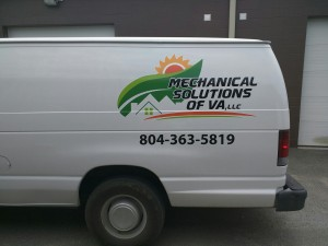 Mechanical Solutions of Va - vehicle decal