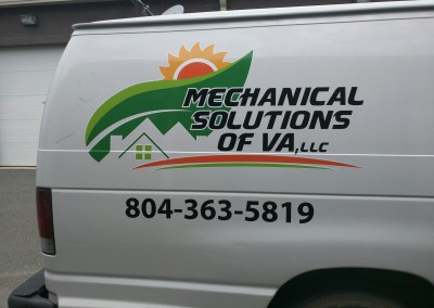 Mechanical Solutions of Va - vehicle decal side