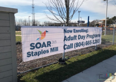 #4 SOAR - 3600 Saunders Ave Staples Mill Adult Day Program banner-A GOOD