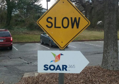 #9 SOAR - Staples Mill Rd directional sign EDIT