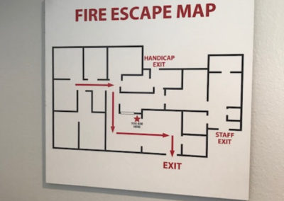 Parham Dental Group-fire escape map GOOD