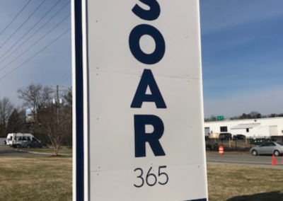 #1 SOAR - 3600 Saunders Ave monument
