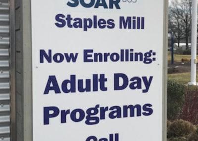 #5 SOAR - 3600 Saunders Ave Staples Mill Adult Day Program pilar patch