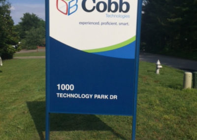Cobb Monument Sign