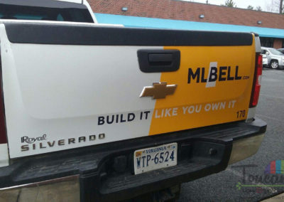 ML Bell rebrand Truck #170 rear