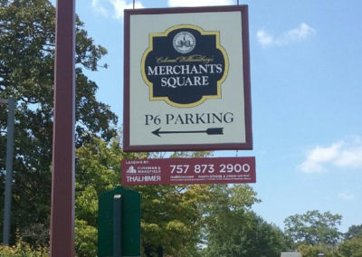 Merchant Square Hanging Sign EDIT