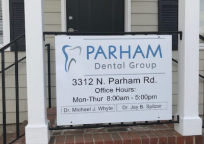 Parham Dental Group-directory sign GOOD